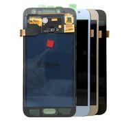 LCD-skärm för SAMSUNG GALAXY J2 Pro J250 OLED-skärm Touchpaneler Digitizer Byte utan ram