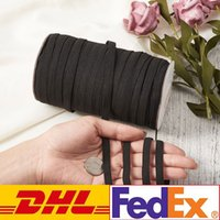 DHL Shipping DIY Mask Braided Elastic Band Cord Knit Band Se...