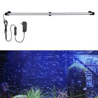 Acuario tubo de vidrio luz parche usado en los tanques de peces, embalses, rocalla, jaulas para mascotas LED luces del acuario