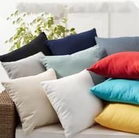 caso twill di cotone o un'immagine in bianco Aereo Cuscino nuovo cuscino qualificato copertura Plaid Lattice divano-letto Home Decor LXL469-A