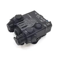 전술 DBAL-A2 AN / PEQ-15A IR 적외선 사냥 레드 레이저 시력 Reomote 스위치 소총 IR 조명기 가자
