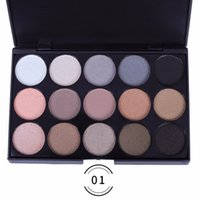 Smokey Eyeshadow Palette Waterproof Smudge- Proof Lasting Col...