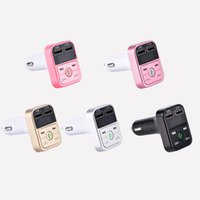 Newest B2 Wireless Bluetooth Multifunction FM Transmitter US...