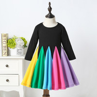 2020 Newest Baby Clothes Toddler Baby Girls Rainbow Dress Ki...