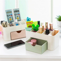 Make Up Brush Holder / Armazenamento Pots Jóias armazenamento caso Organizer Box gaveta