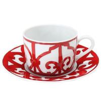 영국 커피 컵과 접시 ceram 머그컵 패션 컵 플레이트 뼈 중국 세라믹 고품질의 가정 사용