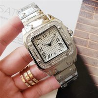 brand watches 40mm 33mm High quality stainless steel diamond...