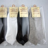Wholesale Socks Mens Solid Ankle Socks 30 Pairs lot Breathab...