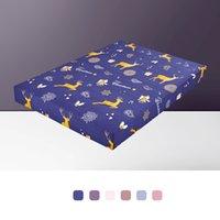 80-220cm Arbeiten Sie Druck Bett Matratze-Abdeckung wasserdichte Matratzenschoner Pad Jersey Spannbetttuch Wasser Bettwäsche Getrennt