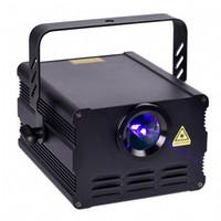 Картины звука DMX ilda 256 блока развертки лазерного луча TTL ILDA 15K Одушевленност полного цвета RGB 1W автоматические