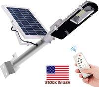 Voorraad in US + Nieuwe 102 LED's SMD5730 7200LM Zonne-energie Sensor Wandlamp Outdoor Waterdichte Energiebesparende Lamp Street Yard Path Garden