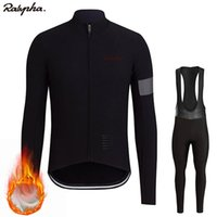 Ralvpha Ropa ciclismo Warm 2020 Winter Warm Fleece cycling J...
