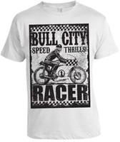 014cf0dea Bull Biker Bicycle Race Game Bull Face Character Bike Rider Slogan T ...