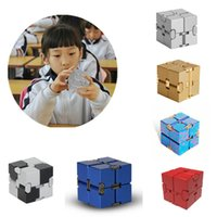 Retail 21 colors LIAODAYS Alloy infinite magic cube decompre...