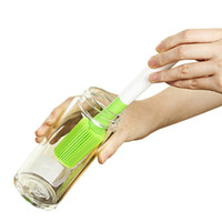 كأس سيليكون فرشاة تنظيف الغسيل لغسل الزجاجات كأس الزجاج الرياضة زجاجات الطفل الترمس القهوة الأقداح JK2003