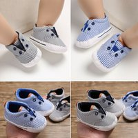 Newborn Baby Boys Girls New Canvas Shoes Letter Pre Walker S...