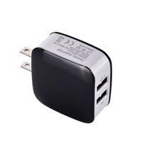 جدار شاحن ميناء USB مزدوج الإضافية 3.1a الولايات المتحدة الاتحاد الأوروبي المتردد المكونات محول الكهرباء المنزلية لسامسونج S7 S8 إيضاح 8 MP3