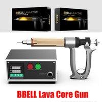Original BBELL LAVA Núcleo Carrinhos Filler 50ml 25ml Para Vape cartuchos de óleo Máquina de enchimento Semi injeção automática Gun 100% Authentic