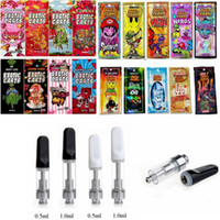 Hologramm Mario Exotic Carts TH205 1ml Keramik Vape Cartridge Verpackung Dicköl Vape Cartridges 510 Thread Batterie Vaporizer E Zigarette