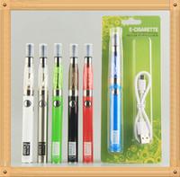 MOQ 5PCS Ugo CE4 EGO-Starter-Kit Elektronische Zigaretten-Blister-Kits E-CIG-Ugo-V II 2 650 900 MAH PASSTHROUGER 510 Batterieladung von Side Vaporizer