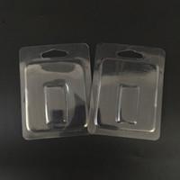 Temizle Blister Ambalaj Buhar Pod Ambalaj Plastik Konteyner Için JUUL Clam Kabuk JUUL Pod için Taşınabilir Vape Başlangıç Kiti