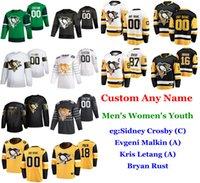 S-6XL 2020 All-Star Game de Pittsburgh Penguins jerseys del hockey Brandon Tanev Jersey Jason Zucker Brian Dumoulin Jack Johnson cosido personalizada