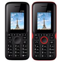 잠금 해제 휴대 전화 2190 1.77inch QCIF 화면 듀얼 SIM 카드 클래식 GSM 저렴한 핸드폰 2.0 블루투스 키보드 버튼 전화