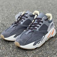 2019 700 Mıknatıs FV9922 Vanta Programı Siyah PK BASF Üst Sürüm Toptan Kutusu Ile Rahat Ayakkabılar Erkekler Eğitmenler Kutusu Sneaker Ile Ücretsiz kargo