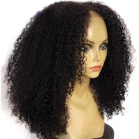 Full Lace Front Human Hair Wigs Pre- Plucked 180% Density Bra...