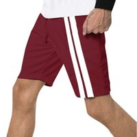 ISHOWTIENDA 2019 Nouveaux Hommes Shorts Mode Hommes Sport Casual Pantalons de jogging Cordon Cool Été Shorts Casual Style Vetements Homme