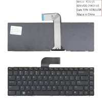NOUVEAU Clavier anglais portable pour Dell Inspiron 14R N4050 M4040 N4110 N4120 M4110 15R N5040 N5050 Clavier portable Clavier de réparation US