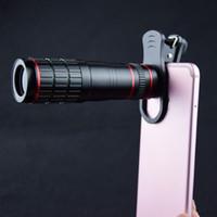 Clipe universal 20X lente da câmera do telefone móvel hd 20x zoom óptico celular telescópio lente portátil teleobjectiva lente da câmera do smartphone