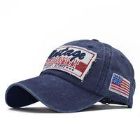 2020 moda trendi büyük harfler yüksek kaliteli saf pamuk eski kaplama beyzbol şapkası 01 yıkanır işlemeli