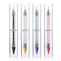 Herramienta de la manicura del lápiz del lápiz del lápiz de la herramienta de la manicura del gel de la clavija de la clava de la pluma