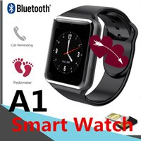 A1 Smart Watch BT-Armbanduhr-Kamera-Touch Screen für Android Intelligent Handy Sleeping-Monitor Kleinpaket SIM-Karte V8 DZ09