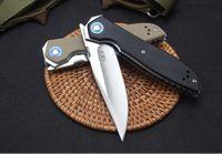 ZT Cero Tolerancia 0372 sistema de cojinetes de bola ZT0372 9Cr18MoV G10 cuchillo plegable ZT navidad cuchillo del regalo para el hombre FACA