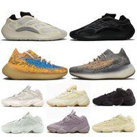 adidas yeezy boost 500 700 v3 380 Alien Mist Femmes Hommes Chaussures de course Soft Black Vision Utility Pierre entraîneurs des hommes Sneakers