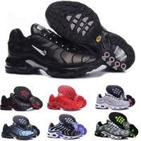 New TN Plus Running Shoes Classic Outdoor Run Shoes tn Black...