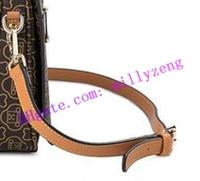 Bandoulière en cuir véritable enduit d'épaule en cuir enduit de cuir véritable pour femme METIS Strap Longue bandoulière réglable Accessoires de sac à main
