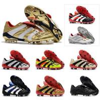 حار 2020 المفترس مسرع FG الكهرباء DB الذهبي زيدان ZZ بيكهام يصبح 1998 98 الرجال أحذية كرة القدم المرابط أحذية كرة القدم حجم 39-45