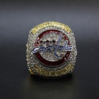 gros Drop Shipping Washington Capitals Stanley Cup Championnat du ring souvenir de vacances de haute qualité gifts32