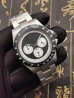 Мужская мода дизайнер VK кварцевый нержавеющая сталь Все Chronograph работы Малые циферблаты хорошо работают Твердая Застежка Мужские часы