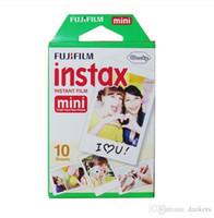 ورق صور حافة بيضاء 3 بوصة فيلم واسعة 20 ورقة مربع fujifilm instax ميني 8 فيلم 20 ورقة للكاميرا