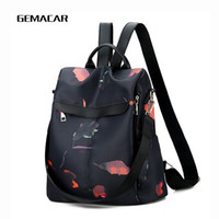 Casual Women' s Backpack Large Capacity Oxford Cloth Wit...