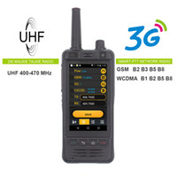 Anysecu 3G Wifi Radio W5 Android 6.0 Telefon PTT Radio IP67 UHF Walkie Talkie 5MP Kamera REALPTT ZELLO POC Transceiver