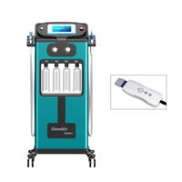Elektrikli Derma Pen Terapi ile 2019 Dermabrazyon Cilt Gençleştirme Ultrason Scrubber Ultrasonik Hydra Güzellik Yüz Cilt Bakımı Makinası