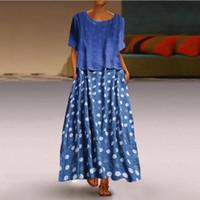 Vestido de solapa de punto de verano de verano de moda3 Material de algodón casual Cómodo suéter de punto transpirable vestido clásico18