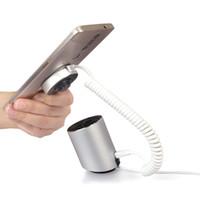5PCS الهاتف المحمول لص عد المنبه حامل الهاتف المحمول اللوحي الأمن مكافحة سرقة جهاز حامل مع وظيفة شحن