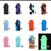 Zero-Pod-Silikon-Hülle Silikon Tasche Gummi-Hülsen-Abdeckungs-Haut-12 Farben für Null Vape Pen Pods Kit Box Mod Vaporizer