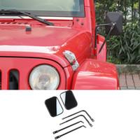 Auto Specchi Specchietto retrovisore auto per Jeep Wrangler JK JL TJ 2007-2017 / 2018/1997-2006 Outlet Factory High Quatlity Auto Accessori